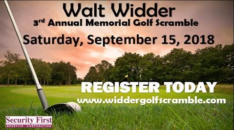 3rd Annual Walt Widder Memorial Scramble